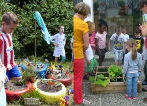 Participation au prix national : Pressigny les Pins (à gauche) et Neuville aux Bois